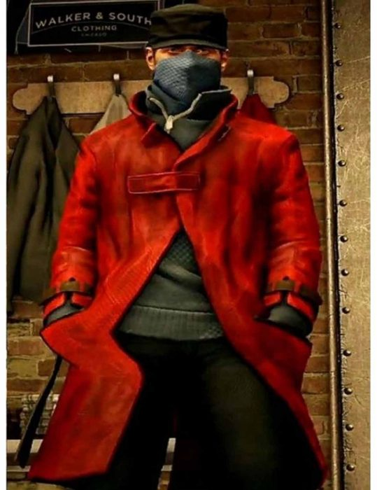Watch Dogs Red Coat