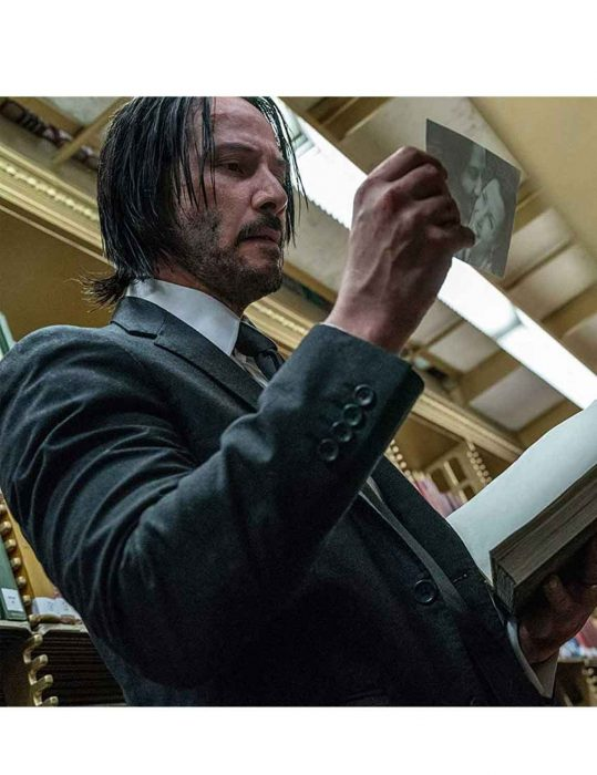 Keanu Reeves John Wick Chapter 3 Suit