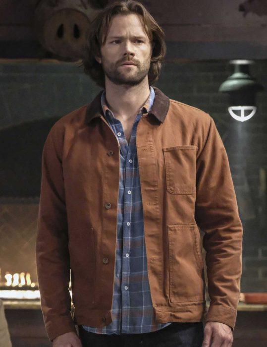 jared-padalecki-brown-jacket
