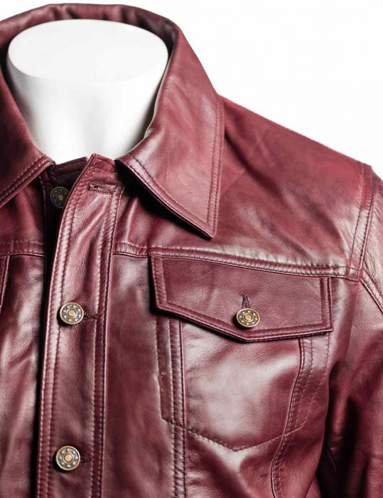 mens-burgundy-denim-jacket