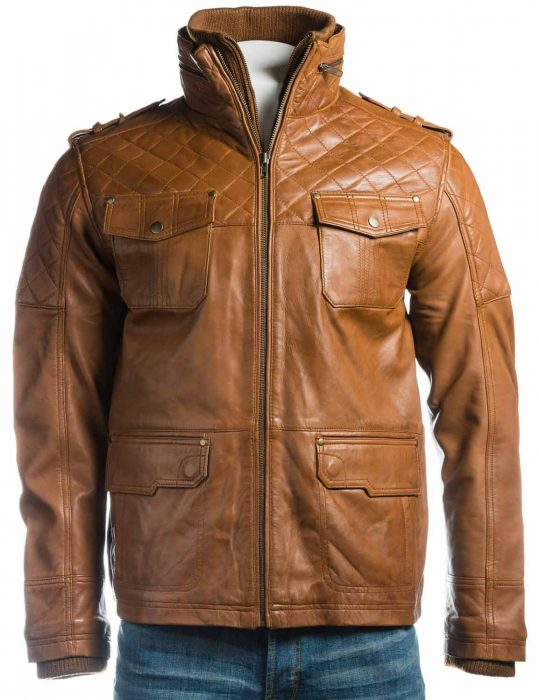 mens-leather-tan-double-collar-jacket