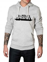 the-punisher-grey-cotton hoodie