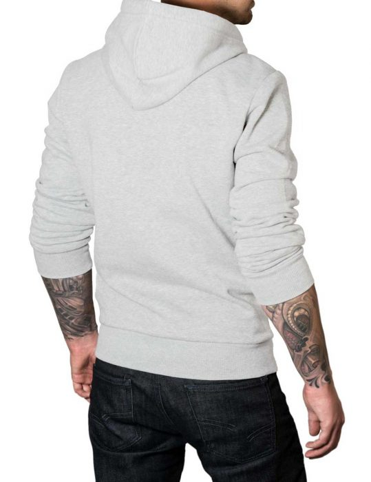 the-punisher-grey-cotton hoodie-back