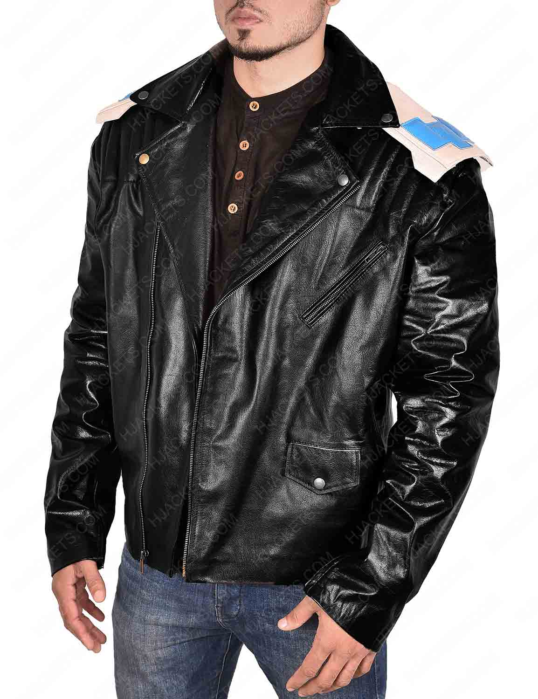 Doom Patrol Robotman Leather Jacket For Sale On Hjackets