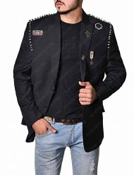 Douglas Booth Jacket The Dirt Nikki Sixx