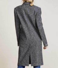 Russian Doll Natasha Lyonne Nadia Vulvokov Grey Wool Coat