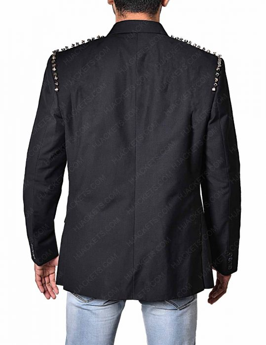 The Dirt Nikki Sixx Douglas Booth jacket