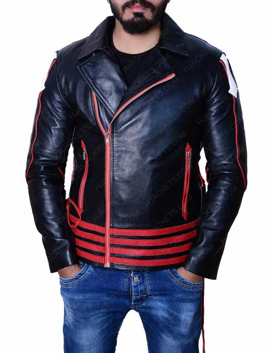 freddie-mercury-red-and-black-leather-jacket