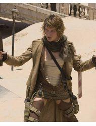 Alice Resident Evil Extinction Milla Jovovich Coat