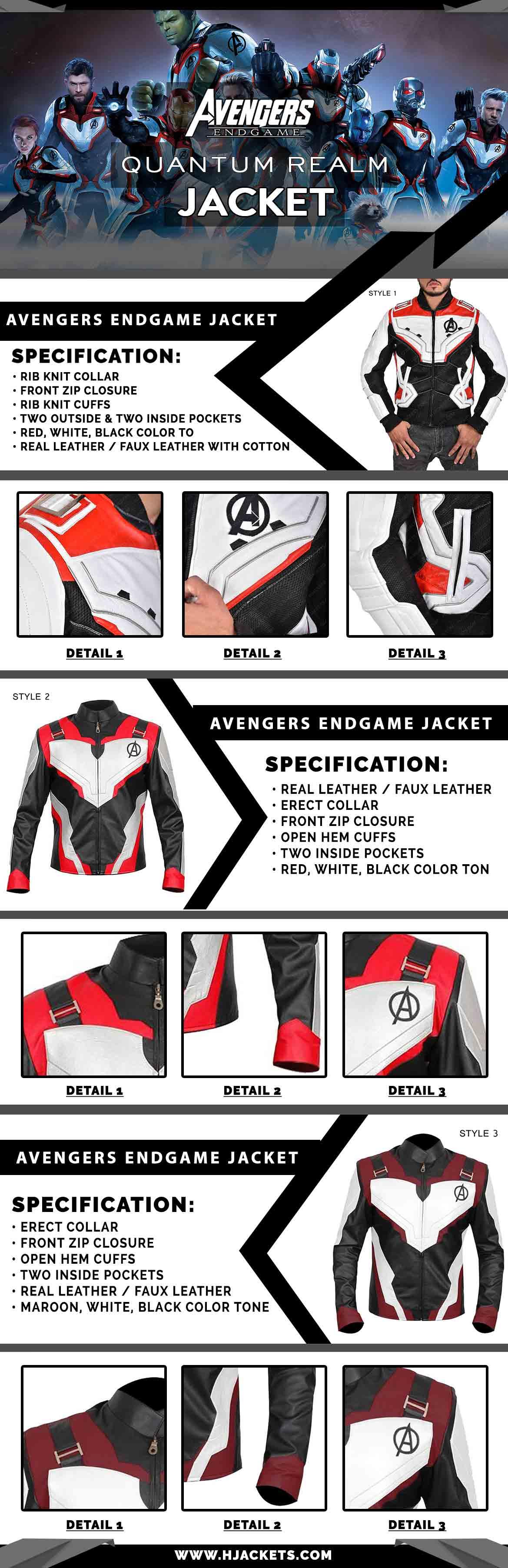 Avengers Endgame Quantum Relem Hoddie InfoGraphic