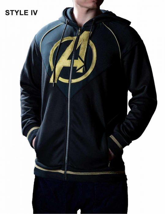 Avengers Endgame Quantum Satin Hoodie