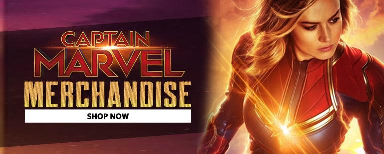 Captain Marvel Mobile banner
