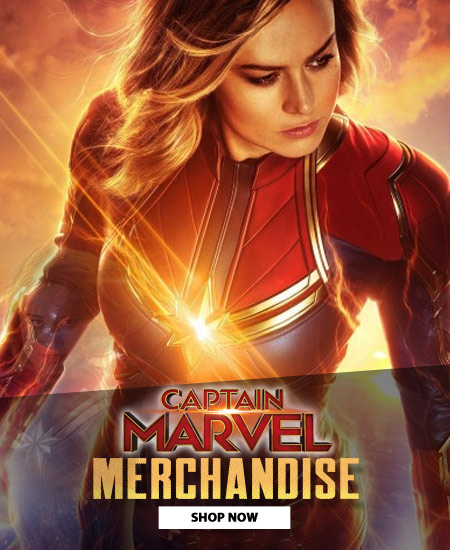Captain Marvel front banner