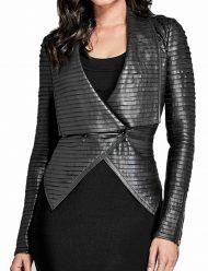 Riverdale Cheryl Blossom Black Pleated Jacket