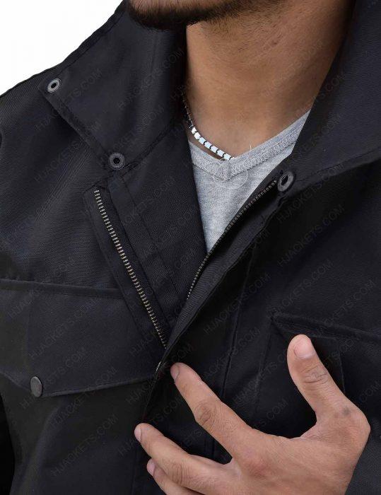 Daredevil Charlie Cox Matt Murdock Black Cotton Jacket