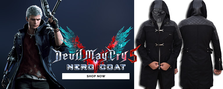Devil May Cry Nero 5 Coat Mobile Banner
