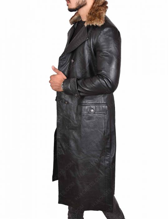 Doctor Thaddeus Sivana Leather Coat