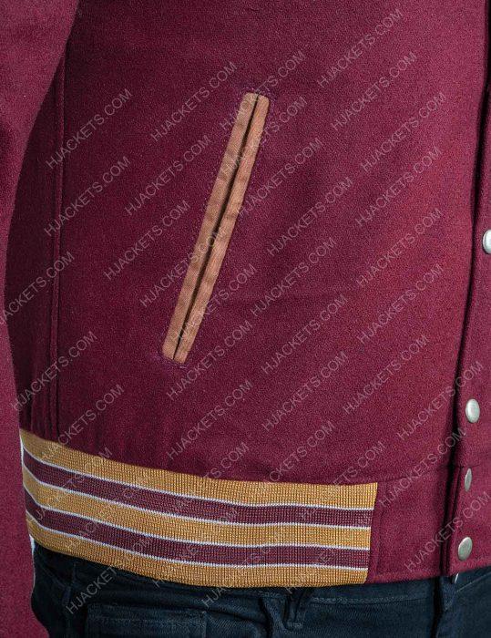 Jackson Marchetti Sex Education Kedar Williams-Stirling Letterman Jacket