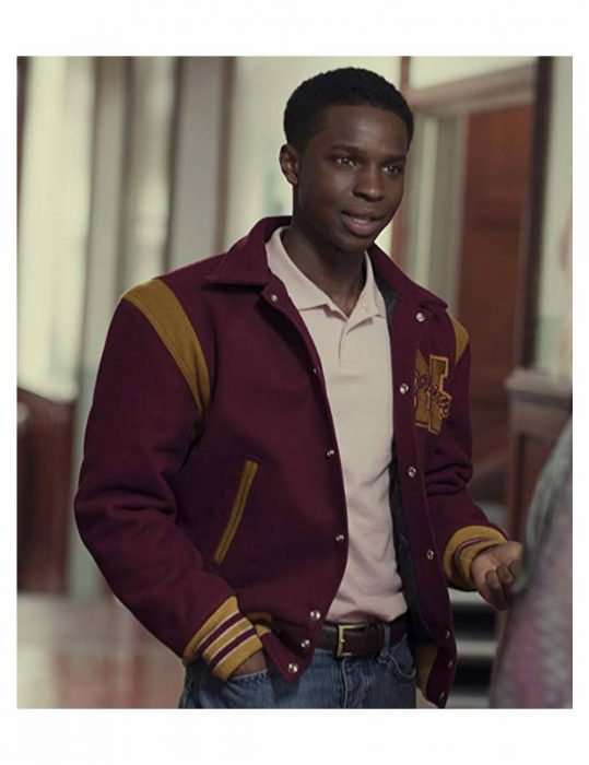 Sex Education Jackson Marchetti Varsity Jacket