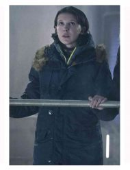 King of the Monsters Millie Bobby Brown Coat
