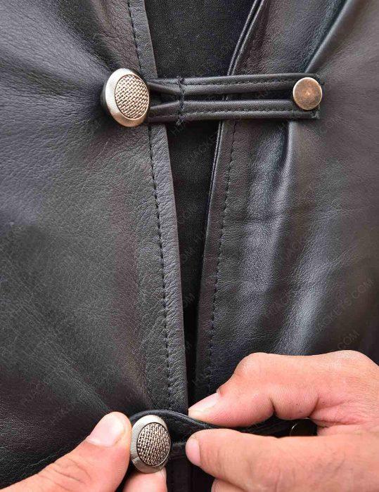 Marco Polo Lorenzo Richelmy Leather Coat