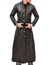 Marco Polo Lorenzo Richelmy Brown Leather Coat