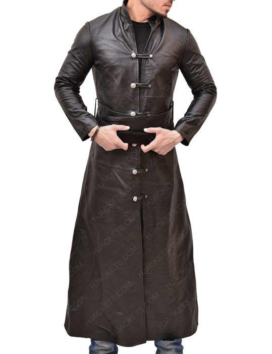 Marco Polo Lorenzo Richelmy Brown Leather Coat