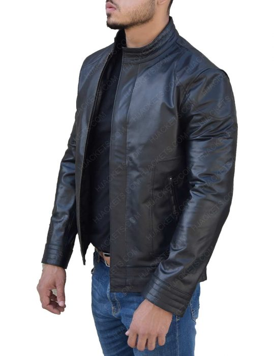 Ninja Assassin Rain as Raizo Leather Jacket