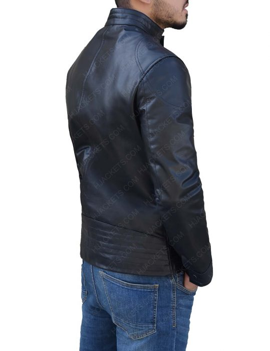 Ninja Assassin Rain as Raizo Black Jacket