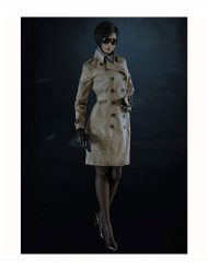 Resident Evil 2 Remake Clair Trench Coat