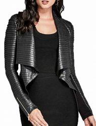 Cheryl Blossom TV-Series Riverdale Black Pleated Jacket