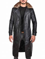Shazam Doctor Sivana Leather Coat