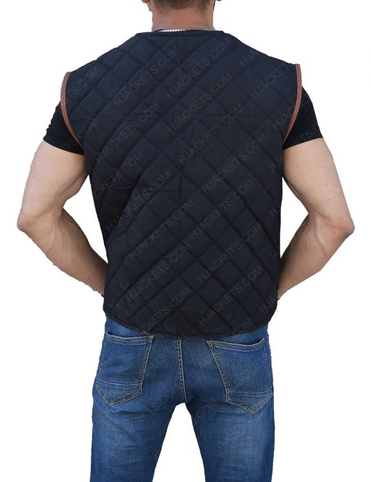Governor David Morrissey Quilted Vest