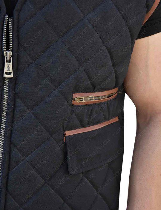 The Walking Dead Governor David Morrissey Quilted Vest