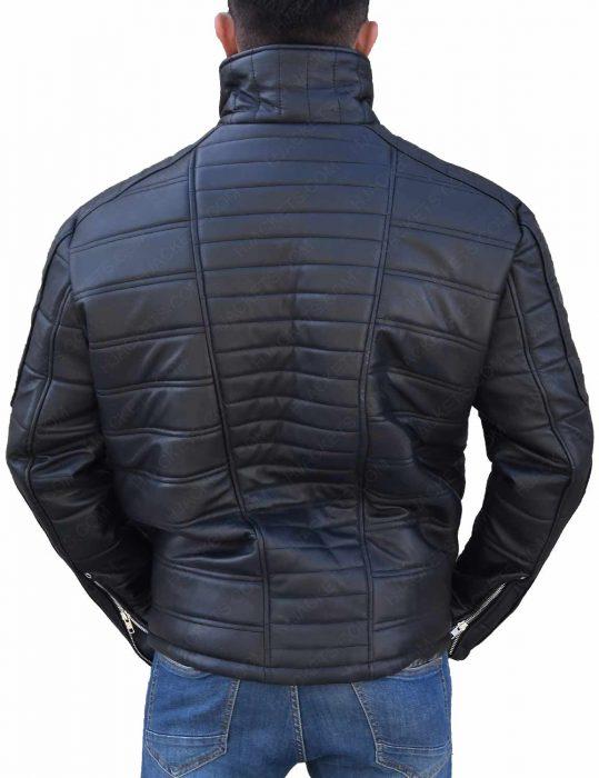 Trevor 'Viking' Calcote Cold Pursuit Tom Bateman Jacket