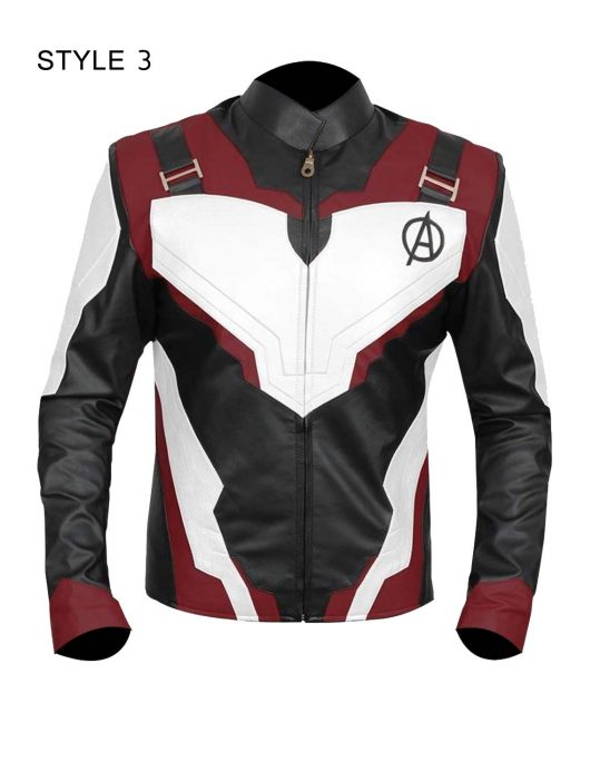 avengers endgame quantum realm white jacket