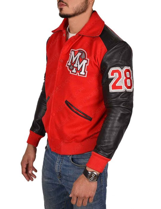 mickey-mouse-michael-jackson-varsity-red-jacket