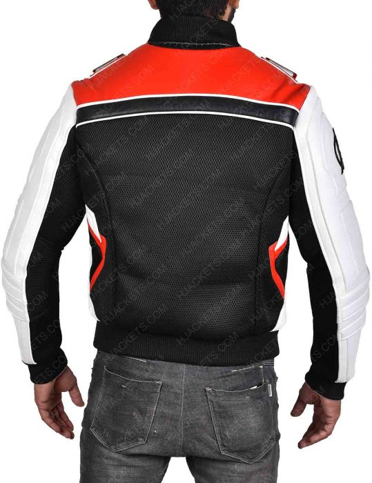 quantum realm white leather jacket