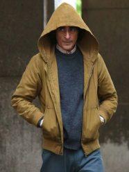 Joaquin Phoenix Joker Brown Hooded Jacket