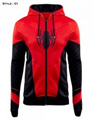 Spider-man Far From Home Zip-up Hoodie