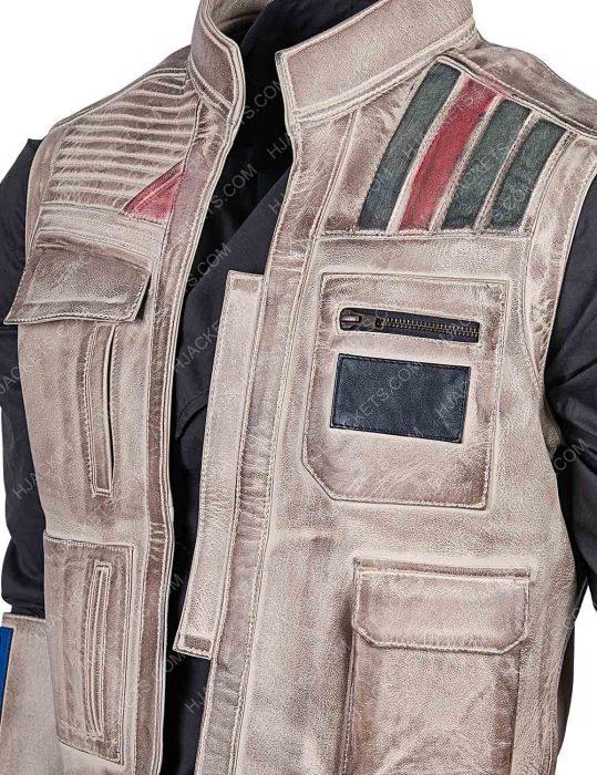 The Rise Of Skywalker finn vest