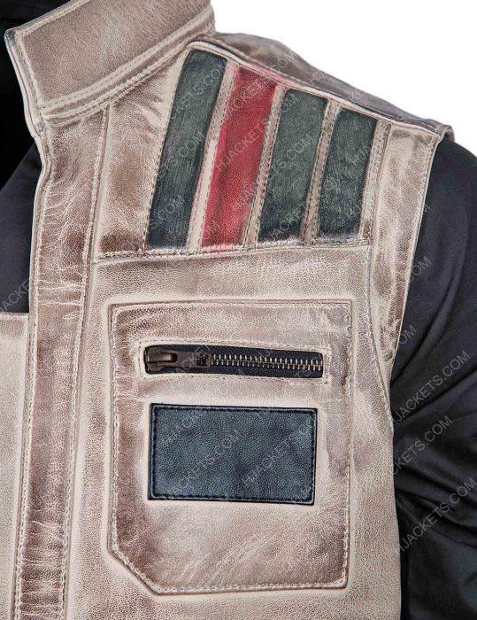The Rise Of Skywalker star wars leather vest