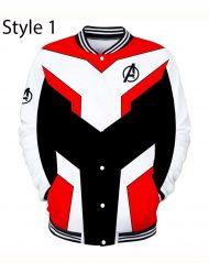 avengers endgame varsity jacket