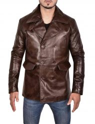 brad pitt inglourious basterds brown jacket
