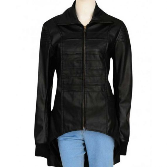 camren bicondova selina kyle leather jacket