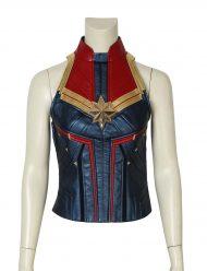 captain marvel carol danvers leather vest