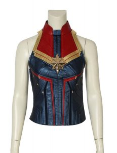 captain marvel carol danvers leather vest