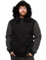 game of thrones jon snow black hoodie