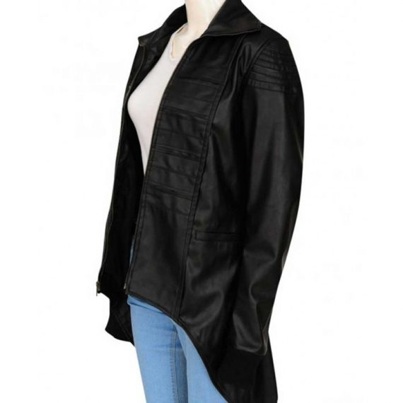 gotham camren bicondova kyle leather jacket