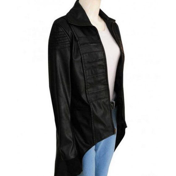 gotham camren bicondova selina kyle leather jacket